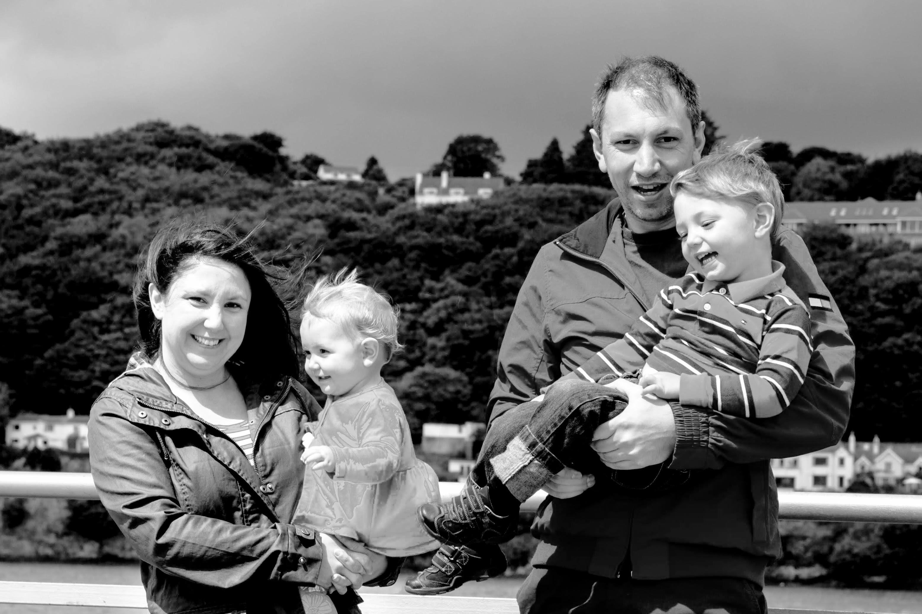 Bryan Sharp's family