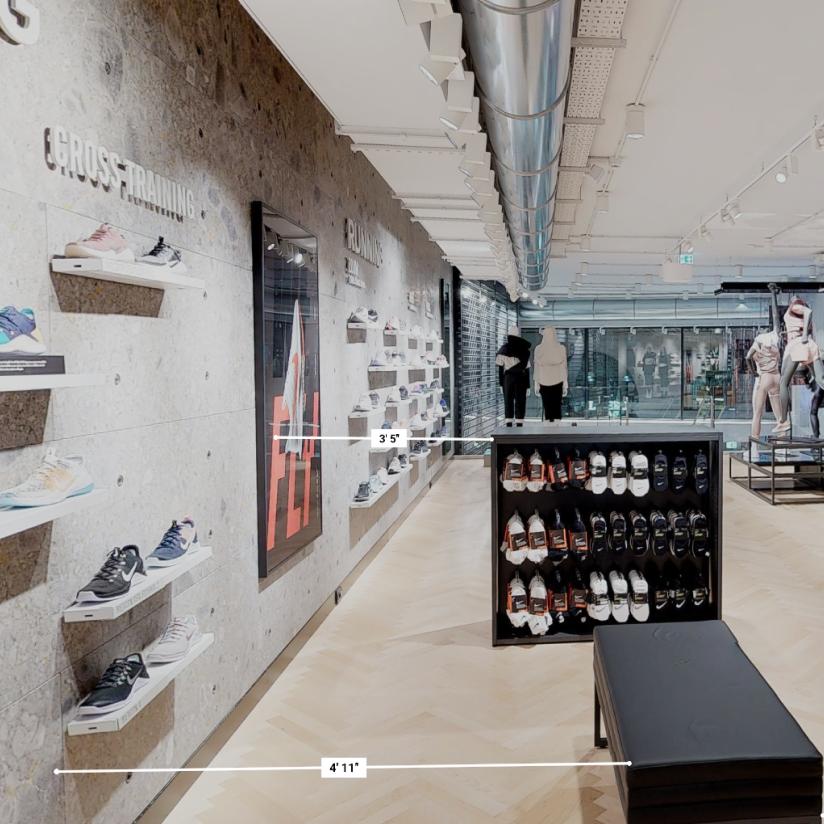 Retail shoes measurement
