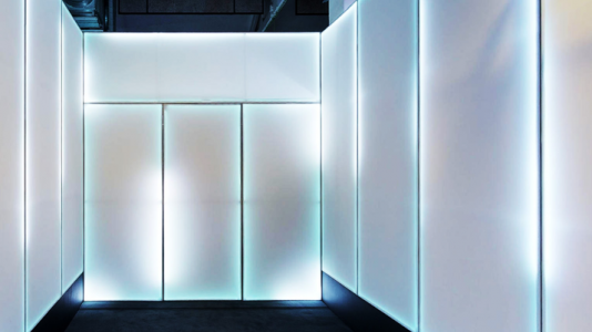 Modern light walls