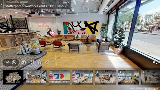 WeWork at Finsbury