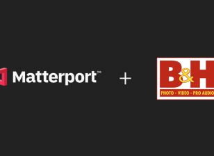 Matterport and B&H lockup