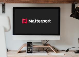 Matterport on desktop screen