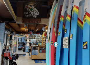 Open for virtual business, Blue Planet Surf Shop