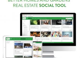 Better Homes and Garden Real Estate Social Tool with Matterport