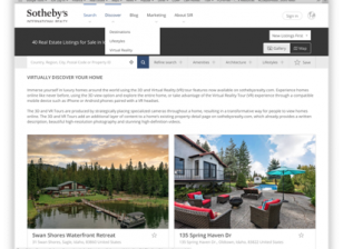 Sotheby's core principle of 3D and the digital twin customer experience