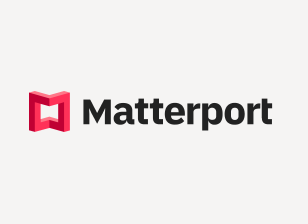 Matterport Logo on white bg