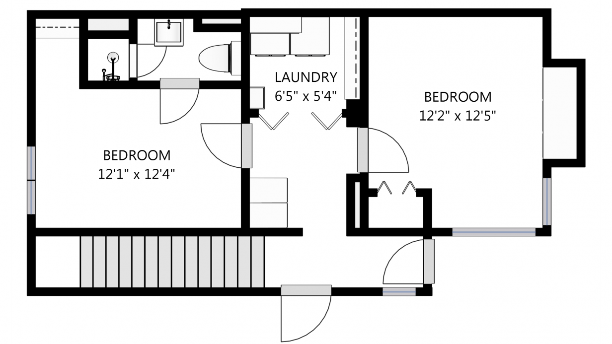Create Schematic Floor Plans online
