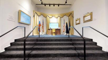 The Donald J Trump Presidential Twitter Library 3d Model Matterport
