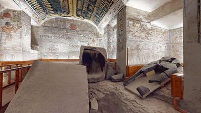 Pharaoh Ramesses VI Tomb