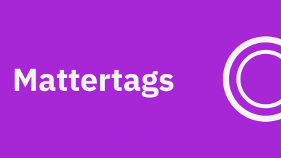 Editing Your Model: Mattertags