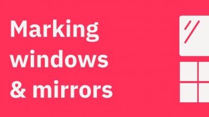 Marking Windows, Mirrors, and Trim