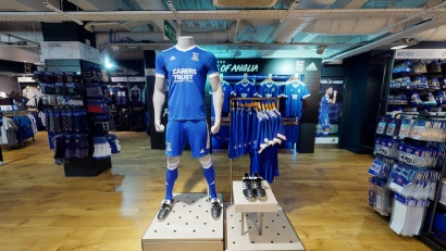 Ipswich Town FC Planet Blue Superstore