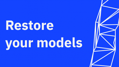 Restore your models