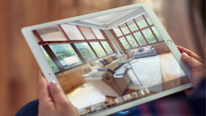 iPad with Matterport Model