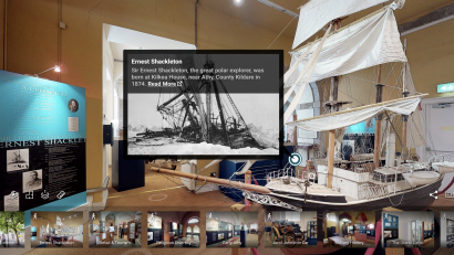A virtual tour of Shackleton Museum