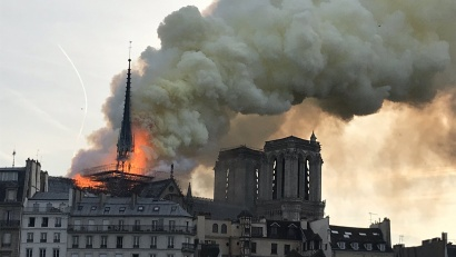 Notre Dame Fire - UK